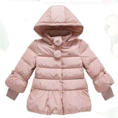 子供コート中綿コート女の子アウター風秋冬ロングルコートマフラー付きかわいい子供服中綿コートパーカーコートレジャーファッション