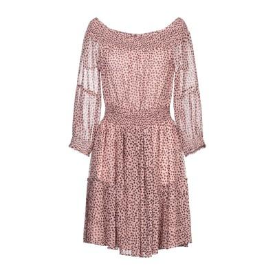 ANNARITA N TWENTY 4H ミニワンピース&ドレス ローズピンク 42 ポリエステル 100% ミニワンピース&ドレス