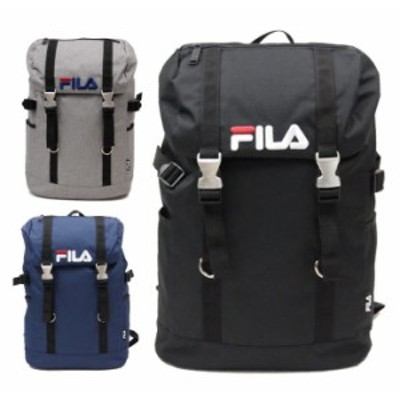 【数量限定エコバッグプレゼント】 FILA フィラ ラウンド・シリーズ かぶせ型リュックサック 20L リュック リュックサック 林間学校 リッ