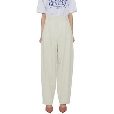 somedayif レディース パンツ Hershey wide cotton trousers