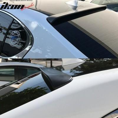 前売品!13-18 現行GS レクサス L1#型 GS250 GS350 GS450h カーボン製 リアガラス ルーフスポイラー WD ウイング
