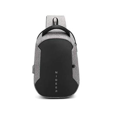 OBOC 斜めがけ ボディバッグ ワンショルダー メンズ 防水 iPad収納可能