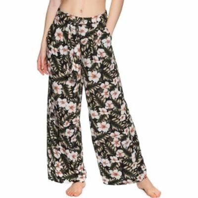 ボルコム Volcom レディース ボトムス・パンツ coco belted pant trousers Black Combo