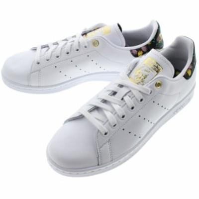 アディダス adidas スニーカー スタンスミス ウィメンズ STAN SMITH W フットウェアホワイト/コアブラック/ゴールドメタリック EH2037