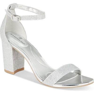 バンドリーノ Bandolino レディース サンダル・ミュール シューズ・靴 Armory Dress Sandals Silver/tone