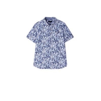 キャロウェイ(CALLAWAY)花柄プリント半袖シャツ 241-1134518-120