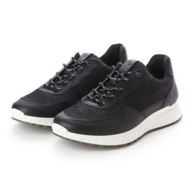 エコー ECCO ST.1 M Sneaker (BLACK/BLACK)