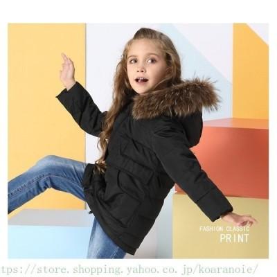 子供服 女の子 ダウンコート 中綿コート フード付き ジャケット キッズコート 冬着 子供コート キッズ服 女の子服 中綿 ロングコート 防寒コート 子供コート