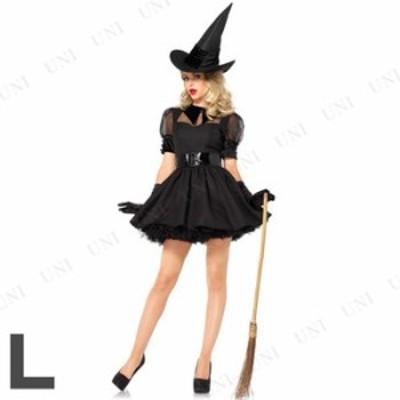 コスプレ 仮装 魅惑的な魔女 大人用 L コスプレ 衣装 ハロウィン 仮装 コスチューム パーティーグッズ 余興 魔法使い 可愛い かわいい ウ