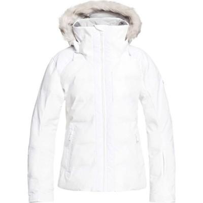 ロキシー Roxy レディース ジャケット アウター clouded jacket Bright White