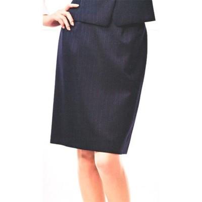 S-15311 タイトスカート(52cm丈) ネイビー 全1色 (セロリー SELERY クレッセ 事務服 制服)