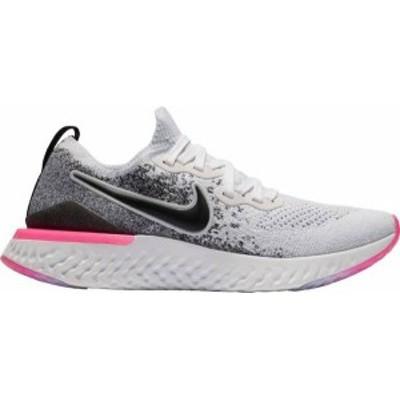 ナイキ レディース スニーカー シューズ Nike Women's Epic React Flyknit 2 Running Shoes White/Pink/Blue