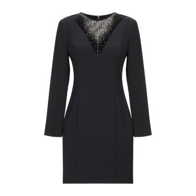 MANGANO ミニワンピース&ドレス ブラック 40 ポリエステル 90% / ポリウレタン 10% / ナイロン ミニワンピース&ドレス