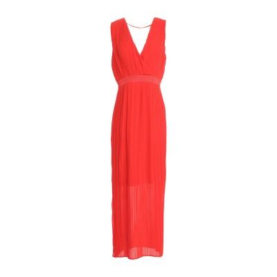Y.A.S. ロングワンピース&ドレス レッド M ポリエステル 100% ロングワンピース&ドレス
