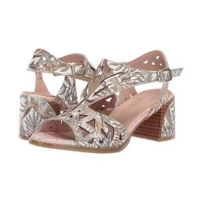 L'Artiste by Spring Step ラーティスト レディース 女性用 シューズ 靴 ヒール Calpie - Bronze Multi
