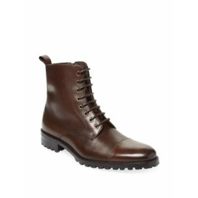 ミルバーンカンパニー メンズ シューズ ブーツ Leather Lace-Up Boots