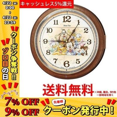 セイコー 電波からくり掛け時計 Disney Time ディズニータイム ミッキー&ミニー FW587B