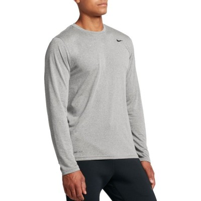 ナイキ Nike メンズ トップス Legend Long Sleeve Shirt Dk Grey Heather