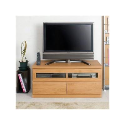 天然木テレビボード 幅100cm ( TV台 ローボード 完成品 日本製)