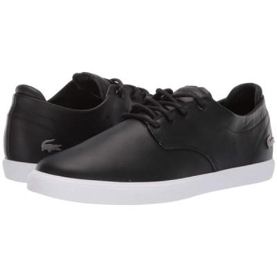 ラコステ Lacoste メンズ スニーカー シューズ・靴 Esparre BL 1 Black/White