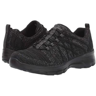 スケッチャーズ SKECHERS Easy Going レディース スニーカー シューズ 靴 Black/Black