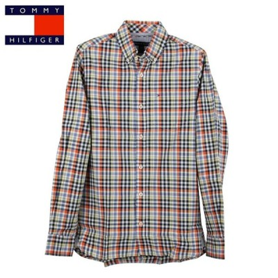 TOMMY HILFIGER/ L/S CHECK SHIRT 長袖 チェックシャツSIZE:XS /正規店購入/条件付き送料無料