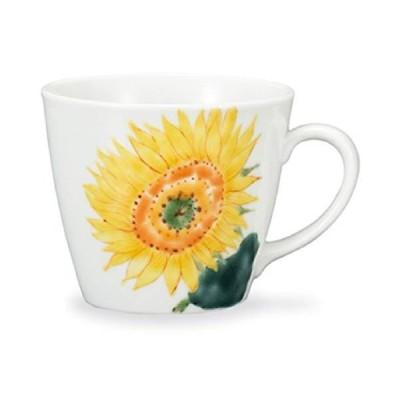 九谷焼 マグカップ 向日葵