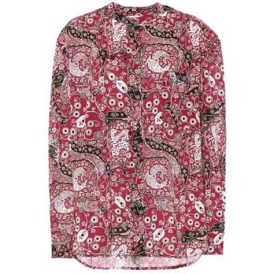 イザベル マラン Isabel Marant, Etoile レディース ブラウス・シャツ トップス mexika cotton blouse Fuchsia