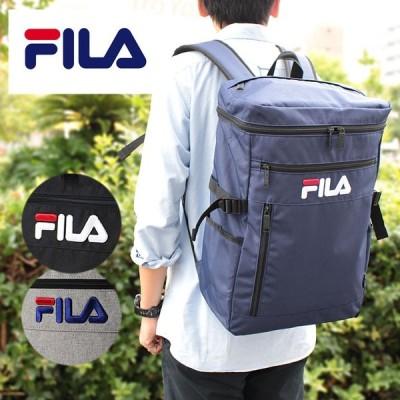 フィラ FILA スクエア型 リュックサック リュック ラウンド 7555 21L