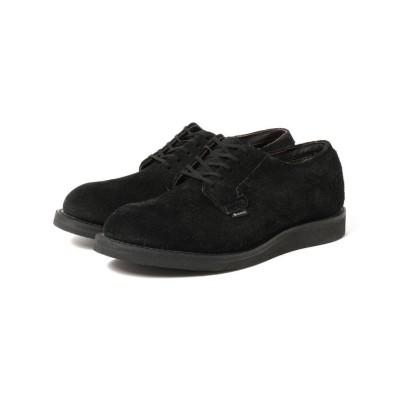 【ビームス メン】 RED WING × BEAMS / 別注 Postman Oxford Shoes GORE-TEX(R) メンズ ブラック 7.5 BEAMS MEN