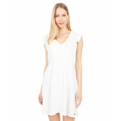 ロキシー ワンピース トップス レディース Morning Breeze Dress Snow White