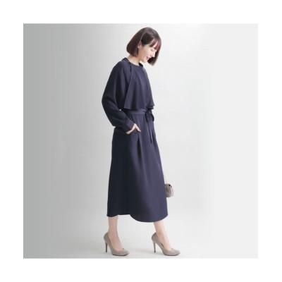 MARTHA(マーサ) ラッフルネックワンピース (ワンピース)Dress
