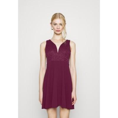 ヴァル ジー レディース ワンピース トップス CHRISTINA SKATER DRESS - Day dress - plum plum