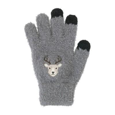 スマホ手袋 シカ 17319631087    フリーサイズ(レディース)