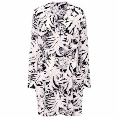 エキプモン Equipment レディース ワンピース ワンピース・ドレス Emmanuelle printed silk dress atlantic deep