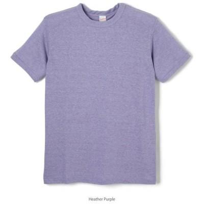 Healthknit(ヘルスニット) TCR クルーネック 半袖Tシャツ ヘザーパープル 980