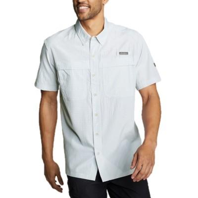 メンズ 半袖ガイドボタンダウンシャツ