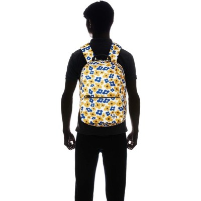 チャムス リュック Eco Hurricane Sacoche Day Pack Yellow Flower