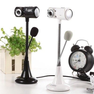 台灣現貨-語音通話聊天外置遠程教學電腦學習鏡頭高清攝像頭