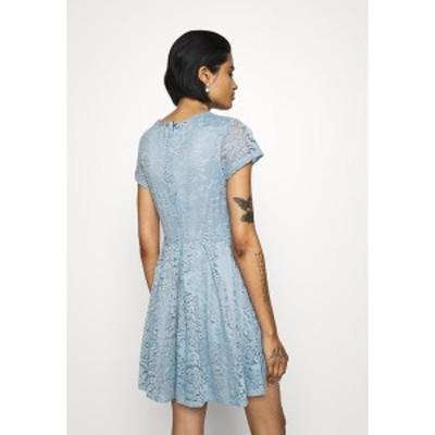 ヴァル ジー レディース ワンピース トップス AVERI SKATER DRESS - Cocktail dress / Party dress - dusty blue grey dusty blue grey