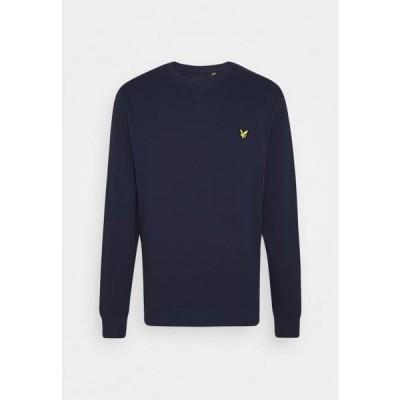 ライルアンドスコット メンズ ファッション CREW NECK - Sweatshirt - navy