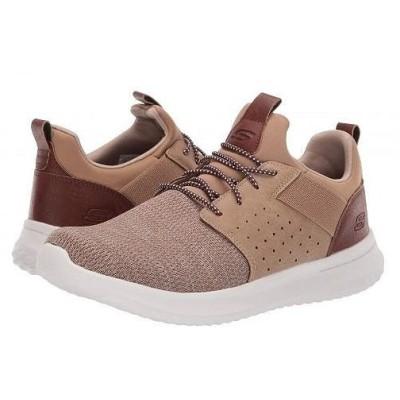 SKECHERS スケッチャーズ メンズ 男性用 シューズ 靴 スニーカー 運動靴 Classic Fit Delson Camben - Light Brown