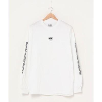 tシャツ Tシャツ DGK/ディージーケー メンズ プリントロンT LOGO LTD MR LOGO L/S TEE DG20FMT01