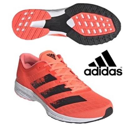 即納可☆ 【adidas】アディダス ランニングシューズ アディゼロ RC 2 メンズ adizero RC 2 M マラソンシューズ 部活動 ユニセックス EG11