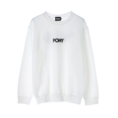【PONY】FAMOUS LOGO sweat shirt