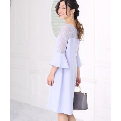 ドレス 【WEB限定】シアートップレースドレス