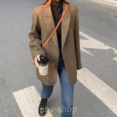 テーラードジャケットアウタージャケットフォーマル羽織り羽織羽織るもの韓国体型カバーwear.com