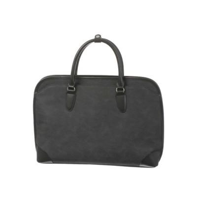 ブリーフケース/ビジネスバッグ/メンズ/三方開きブリーフケース ブラック