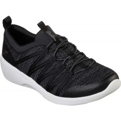 スケッチャーズ Skechers レディース スリッポン・フラット シューズ・靴 Arya Sneaker Black/White