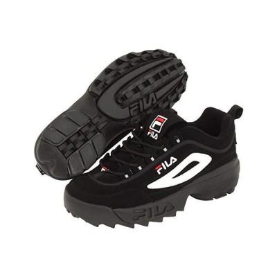 フィラ Strada Disruptor メンズ スニーカー 靴 シューズ Black/White/Vintage Red